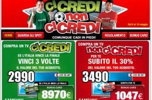Mediaworld: la nuova promozione TV per i Mondiali di Calcio