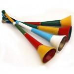 Vuvuzelas, ecco dove comprare le trombette dei Mondiali!